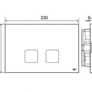 Scheda Tecnica PLAIN Placche di comando Bianco